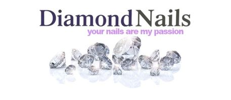 Logo Diamond Nails quadratisch - beauty & balance house - St. Gallen